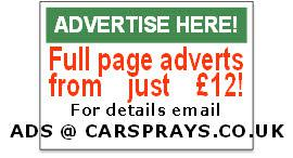 Full page advertisements from £12