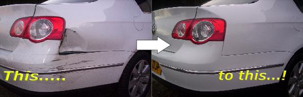Repair accident damage to your car