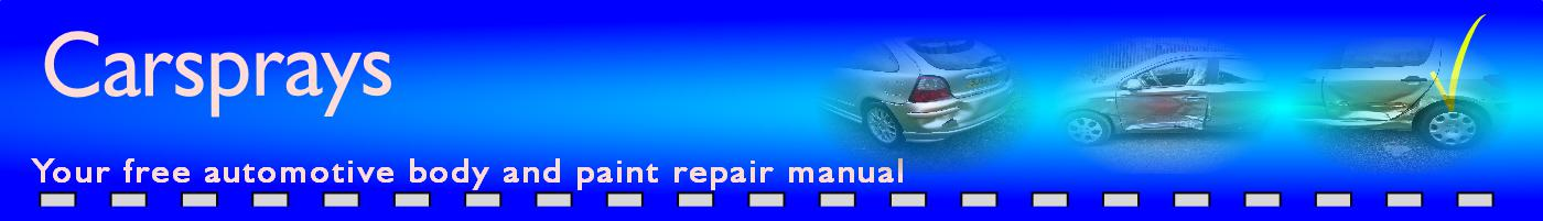 Carsprays diy car repair website